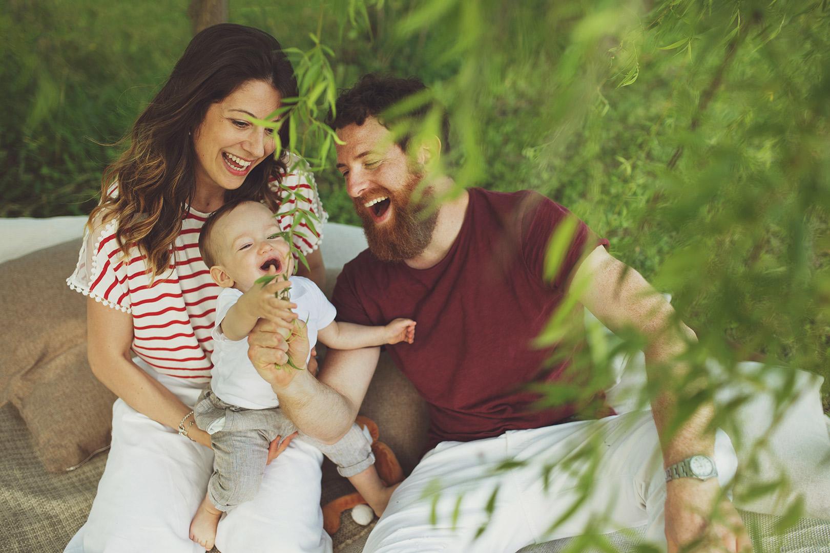 Martina e Marco famiglia