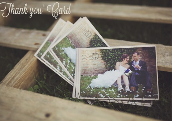 Thank you card – Cartoline di ringraziamento