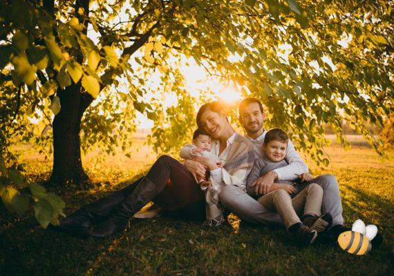 Atmosfere d'autunno – servizio famiglia – OTTOBRE